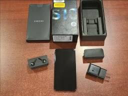 Galaxy s10e 128gb +cartão sd 128gb