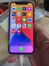 IPhone X preto 256gb. Muito novo $ 2500