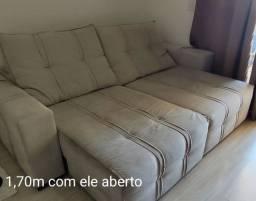 Sofá Retrátil de 3 lugares com 2,30m de comprimento