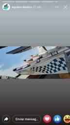 Peças e acessórios para Barcos, Canoas de alumínio