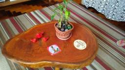 Mesa de centro, rústica, Eucalipto vermelho tratado.