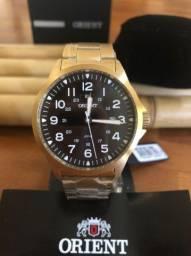 PROMOÇÃO! Relógio ORIENT Dourado Social Clássico Caixa 45mm ZERO NA CAIXA