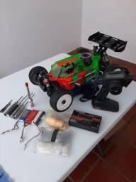 Automodelo buggy pro 1/8 Xray xb8 17 completo