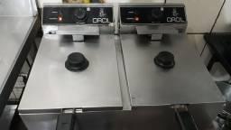Fritadeira orcil dupla