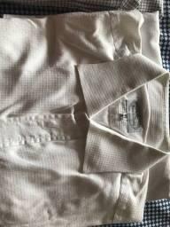 Camisa social branca Brooksfield tamanho 40