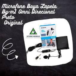 Lapela Boya By-m1 Omni Direcional Original - Produto novo. Store world.