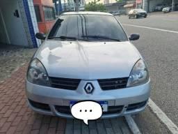 Renault Clio Sedan 1.0 2005 Completo único dona