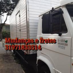 Mudanças fretes Cariacica Vila velha Vitória Belo Horizonte Colatina serra