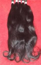 Mega hair, cabelo humano