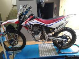 Vendo CRF 230 2008 Preparada Motor e Supensão