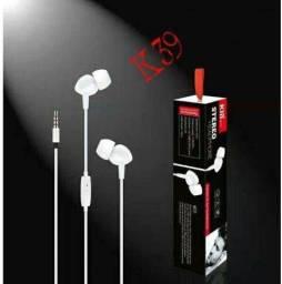 Fone De Ouvido Com Fio kin k33  X Bass Com Microfone