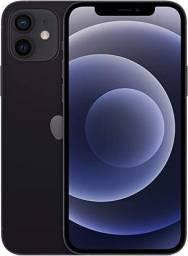 iPhone 12 Apple 128GB Preto Tela de 6,1?, Câmera Dupla de 12MP, iOS