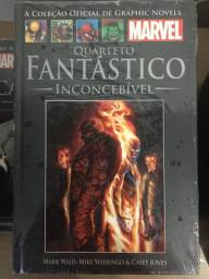 Graphic Novels Marvel Ed. 40 - Vol 30 - Quarteto Fantástico - Inconcebível