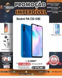 Celular redmi 9a 32 GB blue novo lacrado