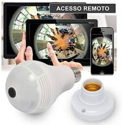 Câmera lâmpada 3d inteligente com visão de 360 graus