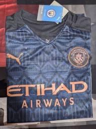 Camisa Manchester City NUNCA USADA 2020/2021 AWAY