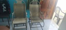 Cadeiras de balanço