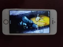 """iPhone 5s Prata 32GB """"LEIA A DESCRIÇÃO"""""""