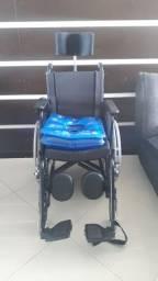 Cadeira de Rodas Ortomobil Reclinável + Almofadas