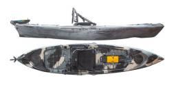 Caiaque Caiman 125 - Com Acessibilidade Para Pedal - Hidro 2 Eko -