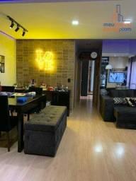 UPPER - Apartamento com 2 dormitórios sala estendida, à venda, 69 m² por R$ 310.000 - Terr