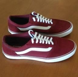 Tenis Vans Original Maddie vermelho