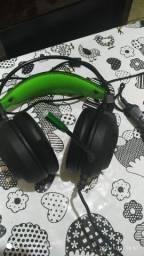 Fone de vídeo game e computador