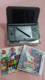 Nintendo New 3DS XL 32GB + dois jogos