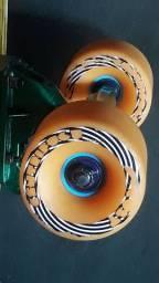 Skate Longboard personalizado com rodas e rolamentos importados