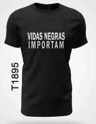 T-Shirt Vidas Negras Importam