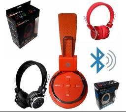 Fone Ouvido Headphone Sem Fio Bluetooth Micro Sd Fm P2 B-05