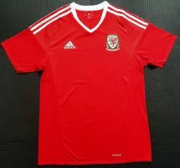 Camisa País de Gales 2016/2017 Home