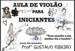 Aulas particulares de instrumentos musicais - Violão/Teclado