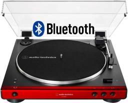 Toca Discos Audio Technica At-lp60xbt Red Bluetooth Wireless