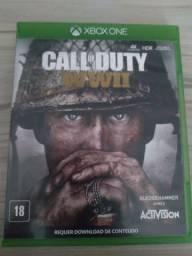 Vendo call of duty ww2 para Xbox one