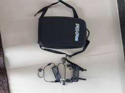 Controle, carregador e mochila de transporte do drone Mavic Pro. FONE: *