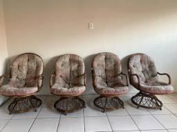 Jogo de Cadeiras para terraço