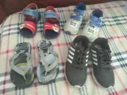 Troco sapato número 26 por tênis de menina número 16 17