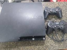Vendo PlayStation3 aceito cartão 4x 175 já destravado pra jogos no HD