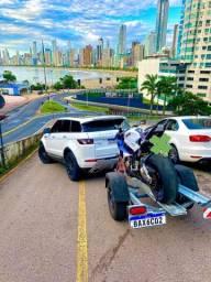 Alugo Carretinha transporte uma Moto
