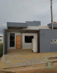 Casa com 2 dormitórios à venda, 54 m² por R$ 195.000,00 - Florais do Parana - Cascavel/PR