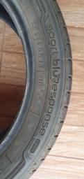 Título do anúncio: Pneu Dunlop Sport Blue Response  205/50/17