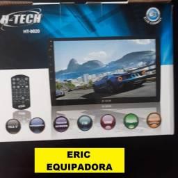 Multimídia H-Tech Ht-9020 Tela 9 Espelhamento Bluetooth Usb Sd Card