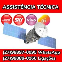 Assistência técnica SKY OITV CLAROTV VIVOTV