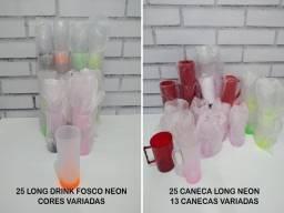 Copos Long Drink Queima de Estoque 354 Itens