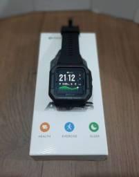 Smartwatch Zeblaze Ares relógio estilo retro Casio