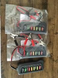 Teste em baterias e alternadores de carros, motos,