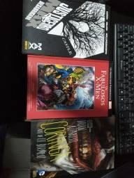 HQs Marvel e DC