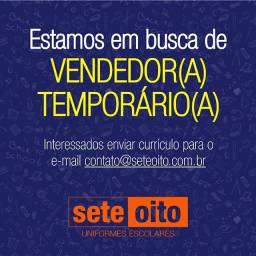Vendedor(a) Temporário(a)