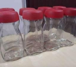 São 23 vidros de Nescafé grandes limpos e esterilizados